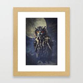 Eagle-Owl Framed Art Print