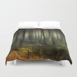 Why am I here Duvet Cover