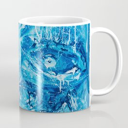 Bunch of eyes in blue Coffee Mug