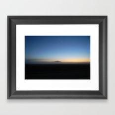SUNRISE IN WESTERN SKIES Framed Art Print