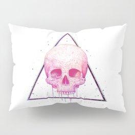 Skull in triangle Pillow Sham