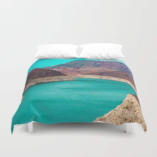 The Dam Duvet Cover