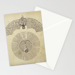 the ojolo philosophers stone Stationery Cards