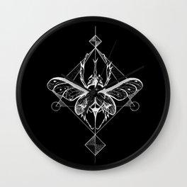 Black Beetle Wall Clock