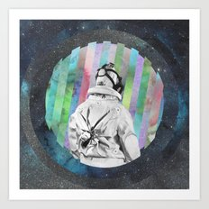 Space Finder Art Print
