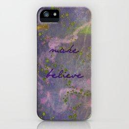 make believe iPhone Case