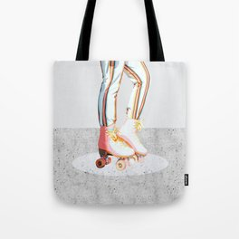 Skating #illustration #lifestyle Tote Bag