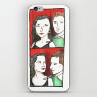 50s iPhone & iPod Skins featuring 50s Photobooth by Feronia Parker Thomas