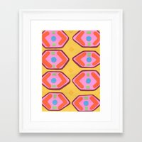 deco Framed Art Prints featuring Deco by Hollis Campbell