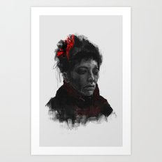 VANESSA IVES Art Print