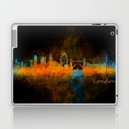 London City Skyline HQ v4 Laptop & iPad Skin