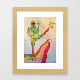 Saturday, Early Morning Framed Art Print