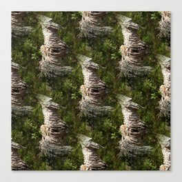 Natural artwork of the forest Canvas Print
