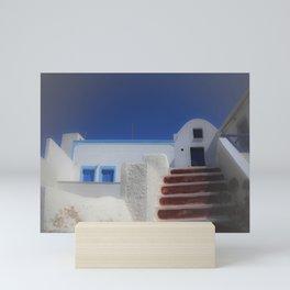 Santorini, Greece 7 Mini Art Print