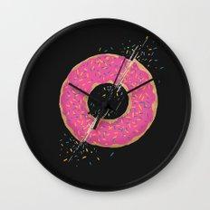 Donut Slices Wall Clock