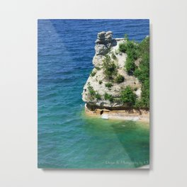 Castle of the Seas Metal Print