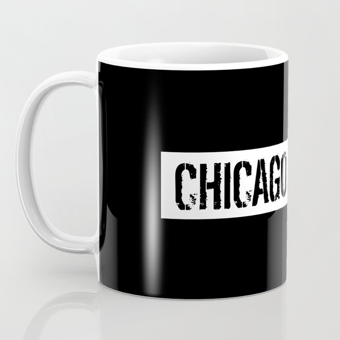 U.S. Flag: Chicago Coffee Mug