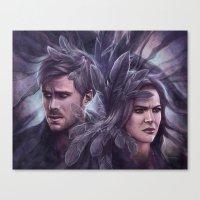 destiny Canvas Prints featuring Destiny by Svenja Gosen