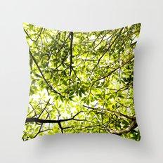 Verde Throw Pillow
