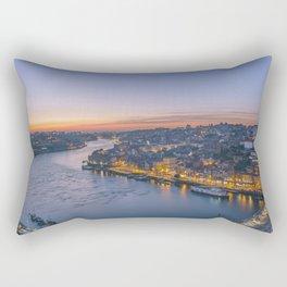 The view from Serra do Pilar - Porto and Gaia Rectangular Pillow