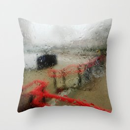 Rainy DayZ 30 Throw Pillow
