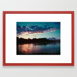Summer's Farewell Framed Art Print