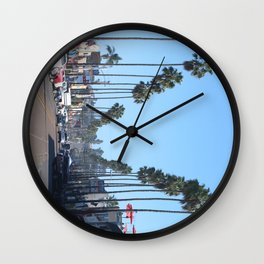 Concrete Roots Wall Clock