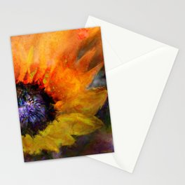 Sunflowers Art Stationery Cards
