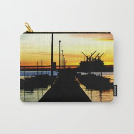 Light shines over the Harbour Carry-All Pouch