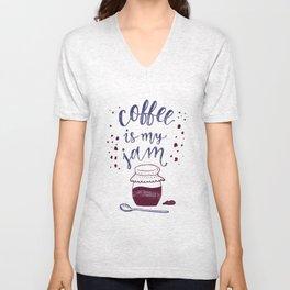 Coffee Is My Jam Unisex V-Neck