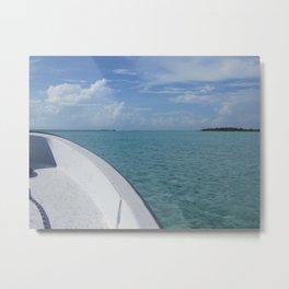 Ambergris Caye Belize Metal Print