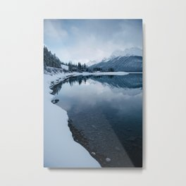 Spray Lakes Metal Print