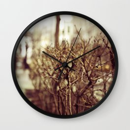 Low POV 1 Wall Clock