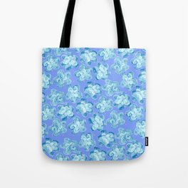 Wallflower - Colony Blue Tote Bag