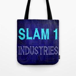 Slam 1 Industries Blue Bones Tote Bag