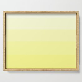 Soft Yellow Hues Palete - Color Therapy Serving Tray