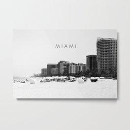 Miami.v2 Metal Print