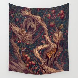 Tree People Wall Tapestry