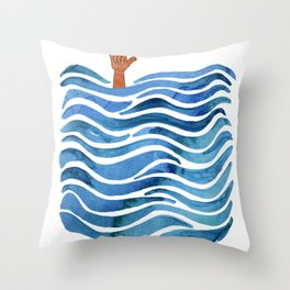 Shaka Throw Pillow