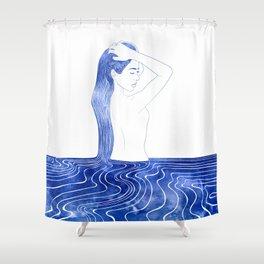 Nereid VII Shower Curtain