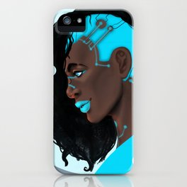 Tecno Girl iPhone Case