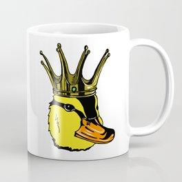 Duck King Head Coffee Mug