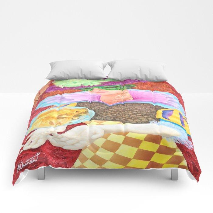 Pez Hembra, Alex Chinea Pena Comforters