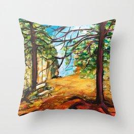 Woodland Beauty Throw Pillow
