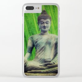 Buddha Clear iPhone Case