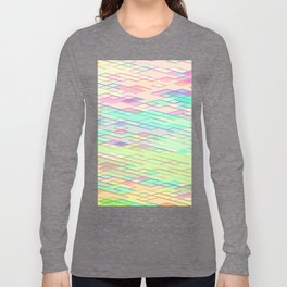 Re-Created Vertices No. 0 by Robert S. Lee Long Sleeve T-shirt