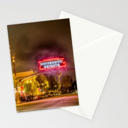 University Heights (San Diego) Sign - SD Signs Series #6 Stationery Cards