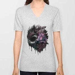 Death Blooms Unisex V-Neck