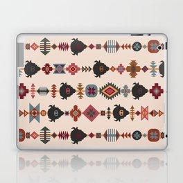American Prairie Ethnic Tribal Seamless Pattern Laptop & iPad Skin