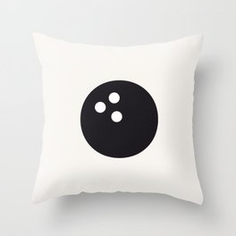 Bowling - Balls Serie Throw Pillow